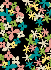 """bloom"" for Fabric ""Cotorienne"""